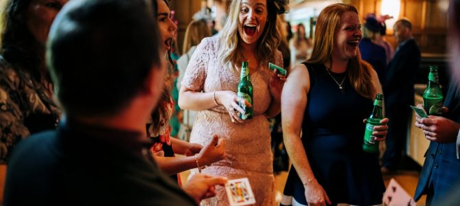 Laughter and Amazement for your Christmas Party